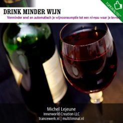 Drink minder wijn