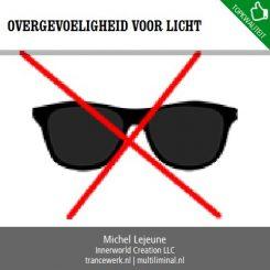 Overgevoeligheid voor licht