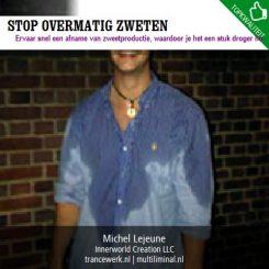 Stop overmatig zweten