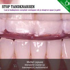 Stop tandknarsen