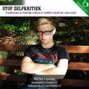 Stop zelfkritiek