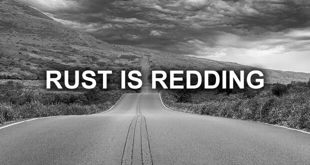 rust is redding