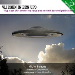 Vliegen in een UFO