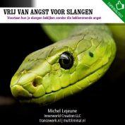 Vrij van angst voor slangen