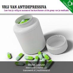 Vrij van antidepressiva